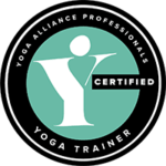 Yoga, Alliance, Professionals, Badge, Logo, Senior, Trainer, Certified, circle