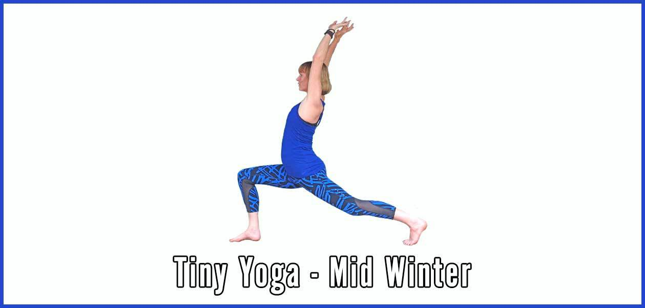 Tiny Yoga, January, Relax, De stress, Scaravelli, Catherine Annis, Mindfulness