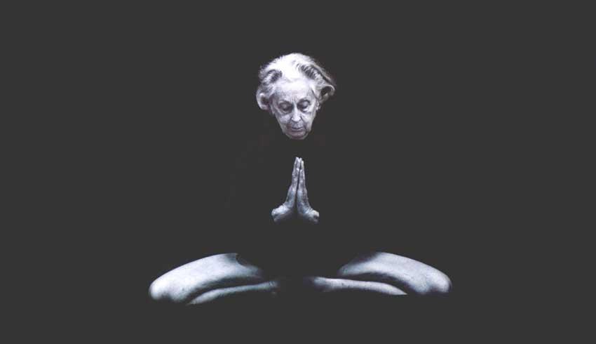 Vanda Scaravelli Yoga Quote, freedom