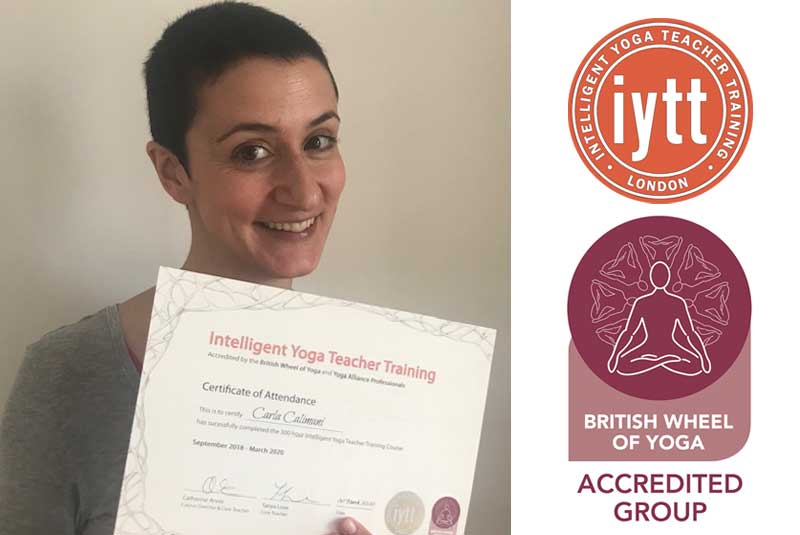 Yoga Teacher Training Course-London, BWY, Certificate, Scaravelli