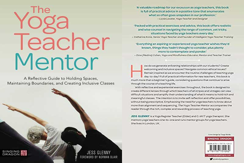 Jess Glenny, The Yoga Teacher Mentor, book