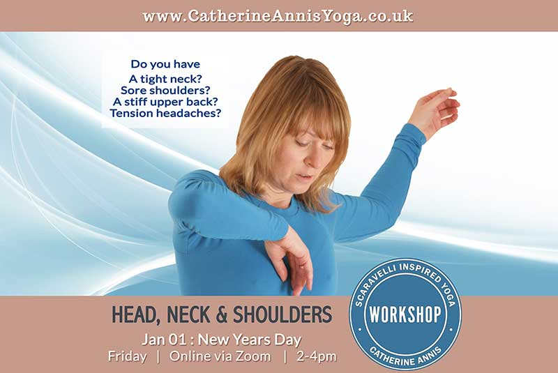 Scaravelli Inspired Yoga Workshop, Head, Neck, Shoulders, Anatomy