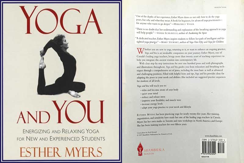 Yoga and You, Esther Myers, book