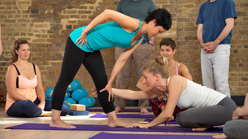 Stretching. London Yoga Teacher Training, BWY Course, Accredited, 2022