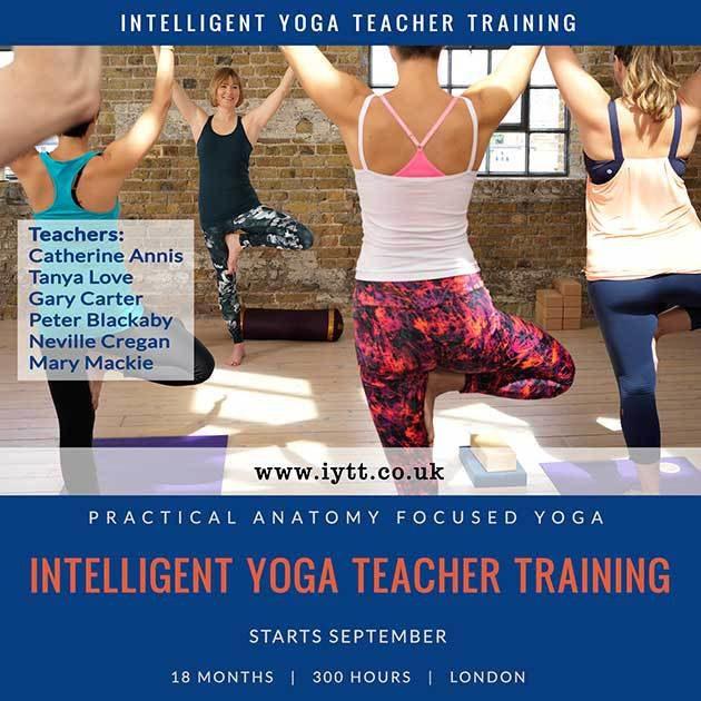 London, Yoga, Teacher, Training, Course, Catherine, Annis, Scaravelli
