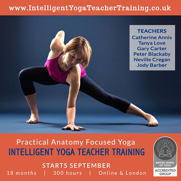 Online Yoga Teacher Training, BWY Accredited Course, 2021, 2022, 2023, Scaravelli, Hatha