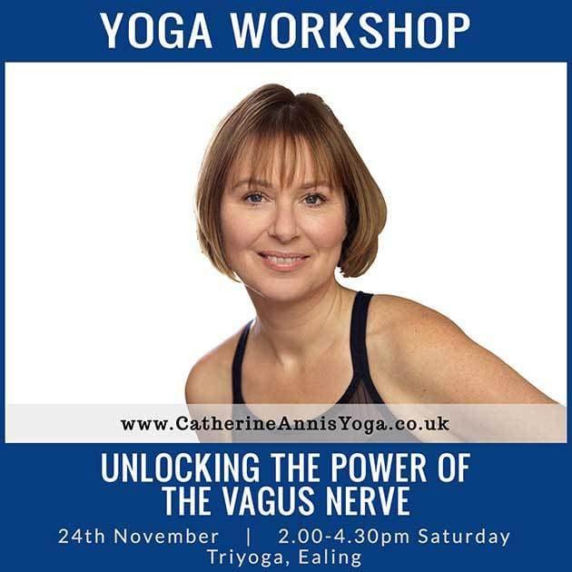 Triyoga, Ealing, Workshop, Vagus, Nerve, Scaravelli, Catherine Annis, November 2018, London