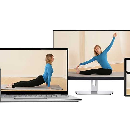 Zoom Yoga Class, Home, Mobile, PC, Tablet, Facebook, Scaravelli Inspired, Catherine Annis
